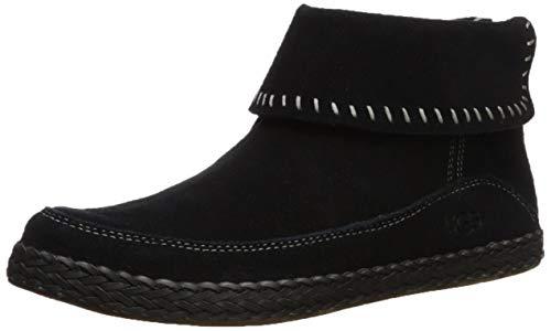 UGG Women's Varney Ankle Boot, Black, 12 M US