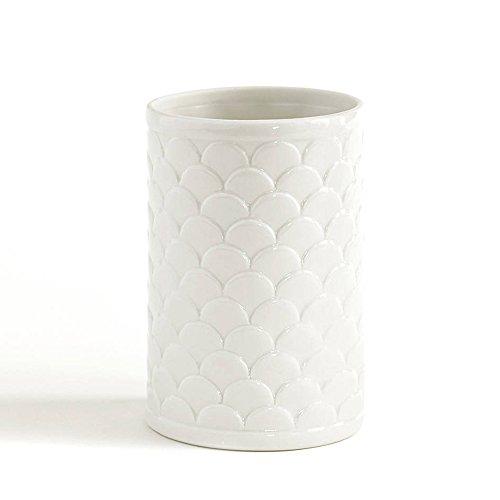 Tumbler, Kassatex Scala Bath Accessories | Fine Porcelain (Accessories White Porcelain)