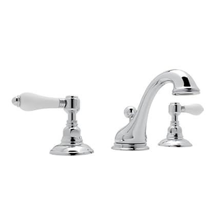 Rohl A1408LPAPC-2 Country Bath Viaggio Widespread Lavatory Faucet ...