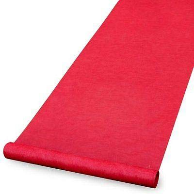 Red Carpet Birthday Party Supplies (Amscan 15ft Hollywood Party Decoration Fabric Red Carpet Floor)