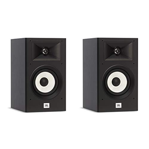 JBL Stage Black Bookshelf Speakers product image
