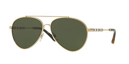 Burberry Women's 0BE3092Q Light Gold/Green One Size