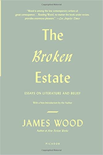 the broken estate essays on literature and belief