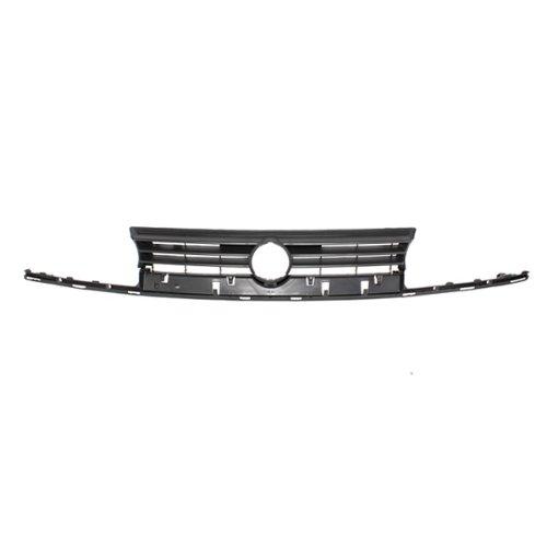 CarPartsDepot, Front Grille Plastic Matte Black Frame For Dual Bulb Lamp Type, 400-45223 VW1200122 1H6853653DGRU