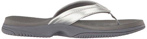 New Balance Frauen JoJo Thong Sandale Silber