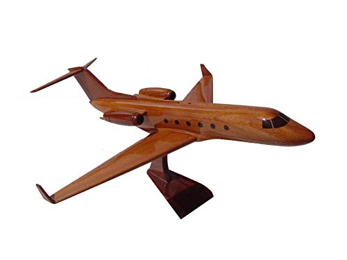 The Gulfstream G5 Mahogany wood Airplane desktop Model