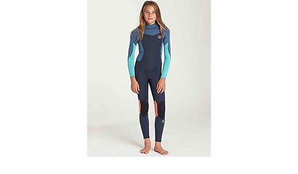 e9fc7f16b7 Amazon.com  Billabong Girls  Girls  3 2 Furnace Synergy Back Zip Fullsuit  Slate 14  Clothing
