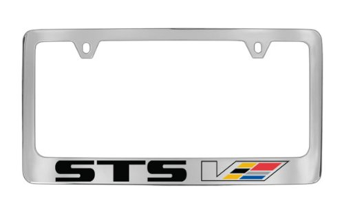 cadillac-sts-v-chrome-plated-brass-license-plate-frame