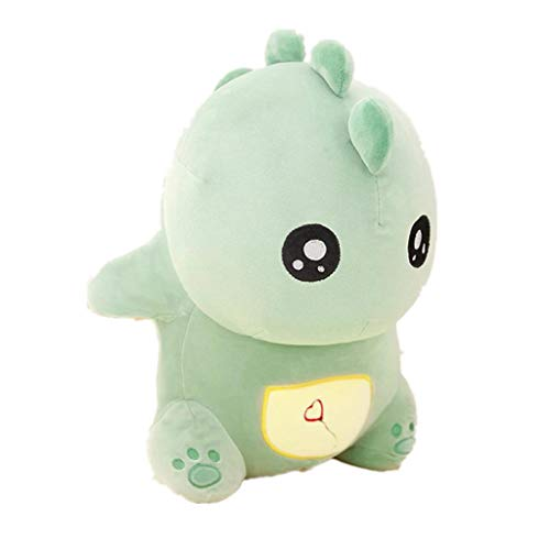 (Stuffed Toys Plush Cute for Dinosaur Dolls Soft Toy Stuffed Animal for Home Decor Best Christmas Birthday Gifts for Kids 1 Pack (Green) )