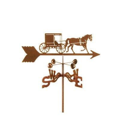 Amish Buggy Garden - EZ Vane Amish Horse and Buggy Weathervane