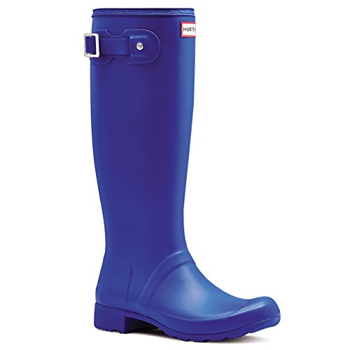 Hunter Womens Original Tour Wellington Winter Snow Waterproof Rain Boots - Azure - 8 by Hunter