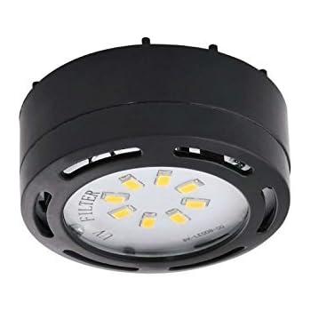 Ledp120wh 120v direct led puck light white under counter ledp120bk 120v direct led puck light black mozeypictures Images
