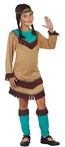 Girls American Native Indian Wild West World Book Day Carnival Halloween Fancy Dress Costume Outfit 3-12 Years (10-12 Years)