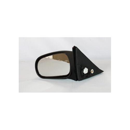 For Dodge Ram 1500 2500 3500 Passenger Right Black Power Heated Door Mirror TYC