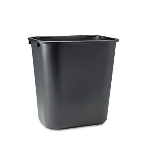 Rubbermaid Commercial TREEMEWP Soft Molded Plastic Wastebasket, 7 Gal, 2 -