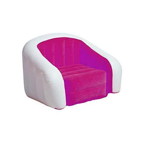 INTEX Sillón Hinchable Club Fun - 1 Plaza - Rosa: Amazon.es ...
