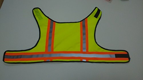 BowWow Classic Designs* High Visibility - Dog Safety Vest (Yellow Small)