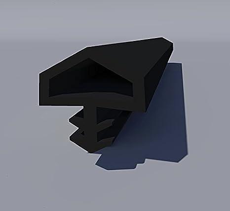 Gummidichtung Dichtungen aus Gummi T/ür Fenster Profildichtung Universal Dichtband Holzzargendichtung Fl/ügelfalzdichtung Dichtungsprofil 30 Meter braun