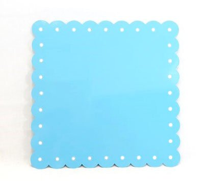 Magnetic Enamel (Large Turquoise Enamel Magnetic Note Board)