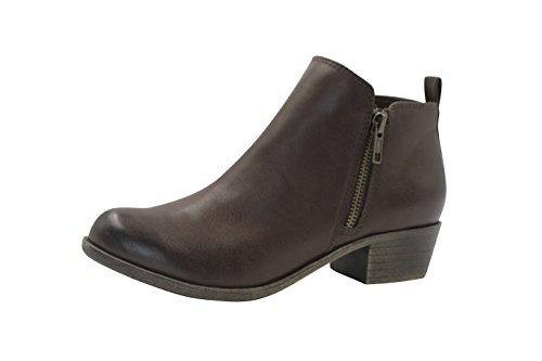 Dunes Women's Dolly Boots, Brown, 8 (Dolly Ankle Boot)