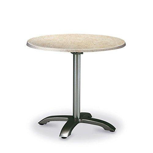 BEST 43549555 Klapptisch Maestro rund, Durchmesser 90 cm, anthrazit / Catalan