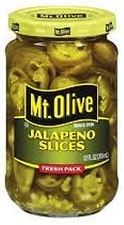 product image for Mt. Olive Sliced Jalapenos, Fresh Packed, 12 Oz., (Pack of 2)