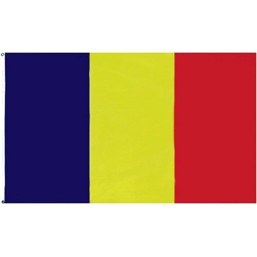 Chad Flag Polyester 3 ft. x 5 ft.