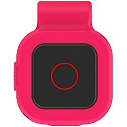 Coohole Replacement Color Silicone Clip Case Cover Bag For GoPro REMO Remote Control (Pink)