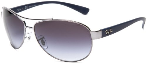 10da72ced6a Ray-Ban RB3386 - GUNMETAL Frame GREY GRADIENT Lenses 63mm Non-Polarized  (B003VK2XQ0)