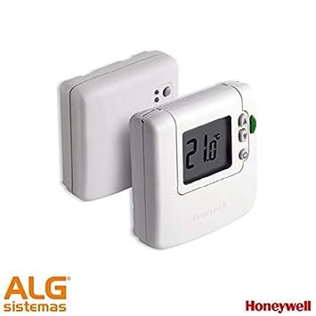 Termostato digital vía radio frío/calor/conmutado Honeywell ...