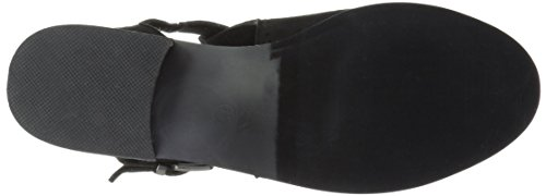 Brinley Co Women's Tulsa Ankle Boot Black Muhix2xg2F