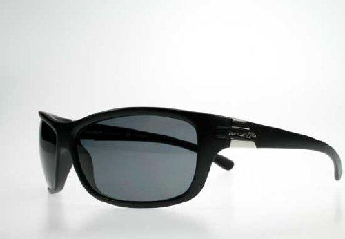 da88c905a5 Image Unavailable. Image not available for. Colour  Arnette SPEED Sunglasses  - 4120 01 81 Matte Black w  Polarized Grey Lens
