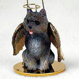 Cairn Terrier Angel Dog Ornament - Brindle