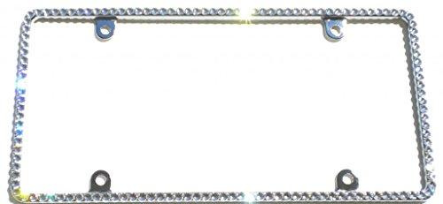 custom bling license plate frames - 9