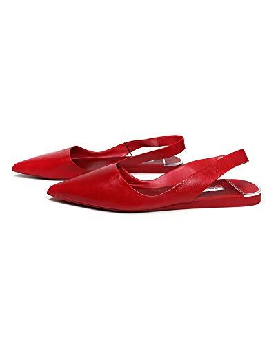 Arrière Femme Cuir Chaussures 301 Brides En À 6539 Zara nvYqgx4Iq