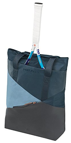 HEAD Women's Club Carry Tennis Bag, Grey/Petrol