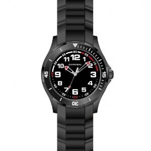 Cannibal Jungen-Armbanduhr Analog Silikon schwarz CJ219-03