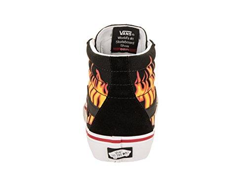 d9e5e2dc2f Vans x Thrasher Sk8-Hi Pro Sneakers (Thrasher Black) Men s Canvas Skate  Shoes