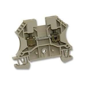 TERMINAL BLOCK, 2 way, 26-10 AWG 102010 WDU, 4 unidades 10 de WEIDMULLER y Best Price cuadrado