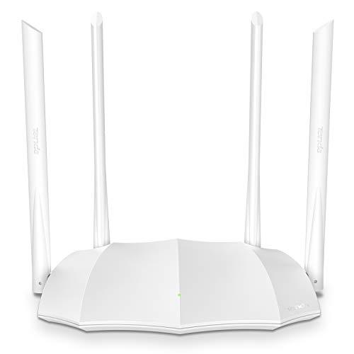 Tenda AC1200 Gigabit Smart WiFi Router | Dual Band Wireless Internet Router | AP Mode| IPv6 | Guest WiFi, and Parental Controls | various scenarios | (AC5V3.0), White