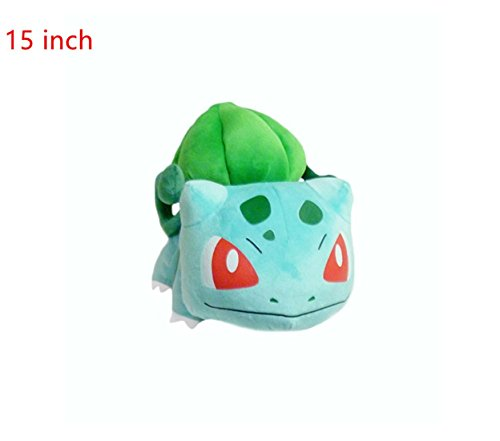 [Simba Pokemon: Vine Whip Bulbasaur Plush 15 inch] (Benny And Smalls Costume)