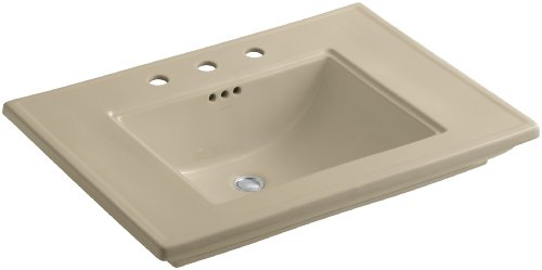 KOHLER K-2269-8-33 Memoirs Bathroom Sink with Stately Design and 8
