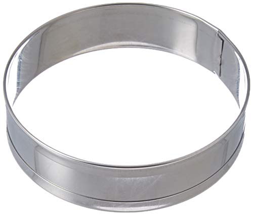 Norpro 3776 Stainless Steel English Muffin Rings, Set of 4 ()