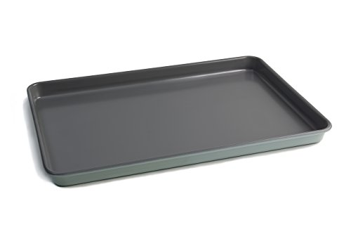 - Jamie Oliver Baking Tray Nonstick Cookie Half Sheet Pan, Professional Heavy-guage Carbon Steel Construction - 15 X 10 Inch