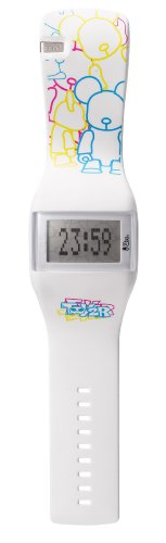 (o.d.m. Unisex DD99B-110 Toy2R Series White Watch)