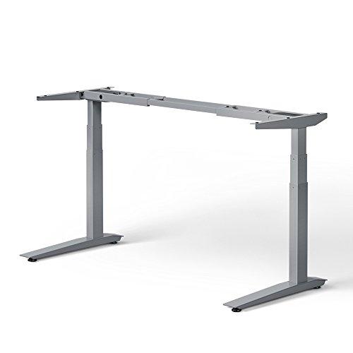 jarvis standing desk frame only electric adjustable height sit stand desk 3 stage extended. Black Bedroom Furniture Sets. Home Design Ideas