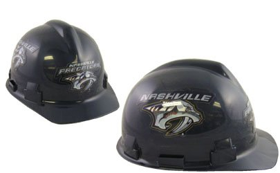 WinCraft NHL 9893511 Nashville Predators Packaged Hard Hat 1