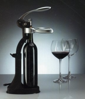 Professional Lever Tabletop Corkscrew with Extras by CWC U.K.