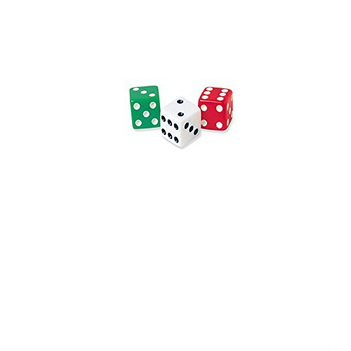 Dice Dot 36-Pk Learning Materials/T&G Games Ler2229 Learning Resources