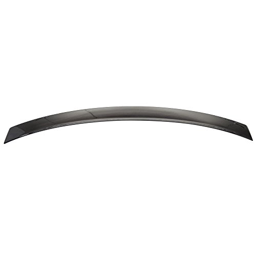 Roof Spoiler Compatible With Pre-painted 2008-2014 Benz C-Class W204 | 4Dr 4Door Painted #040 Black - Other Color Available Rear Trunk Tail Spoiler Wing by IKON MOTORSPORTS | 2009 2010 2011 2012 2013